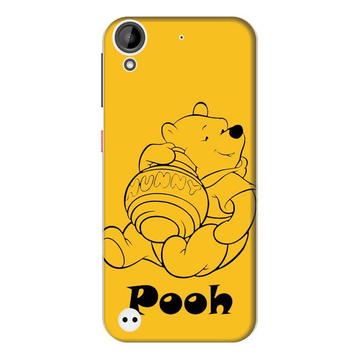 Ốp Lưng Nhựa Cứng Nhám Dành Cho HTC Desire 530 In Hình Pooh