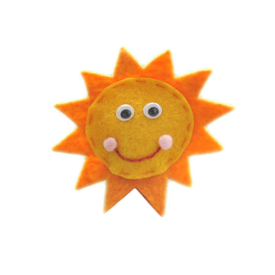 Rối Ngón Tay Mặt Trời Vui Vẻ Latin Handmade LT523
