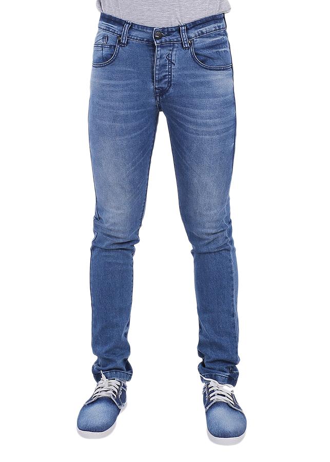 Quần Jeans Skinny Nam A91 JEANS Thời Trang 211 MSKBS211LG - Xanh Nhạt