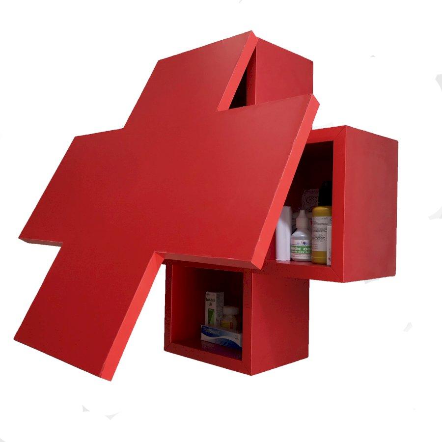 Tủ thuốc y tế gia đình gỗ cao cấp