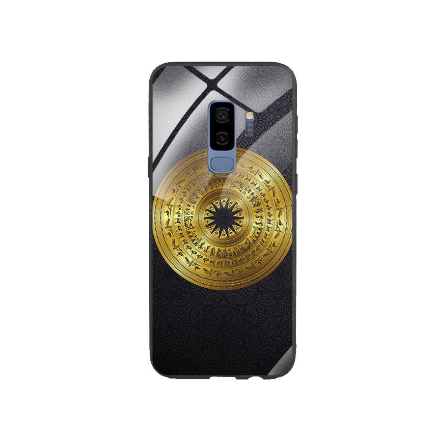 Ốp Lưng Kính Cường Lực cho điện thoại Samsung Galaxy S9 Plus - Trống Đồng 05