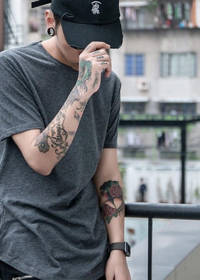 áo thun longtee basic - áo longtee layer màu xám - longtee lai bầu tay ngắn - layer tà bầu