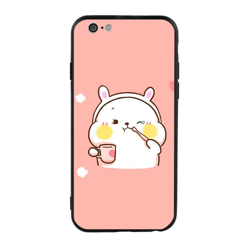 Ốp lưng viền TPU cho điện thoại Iphone 6/6s - Cute 06