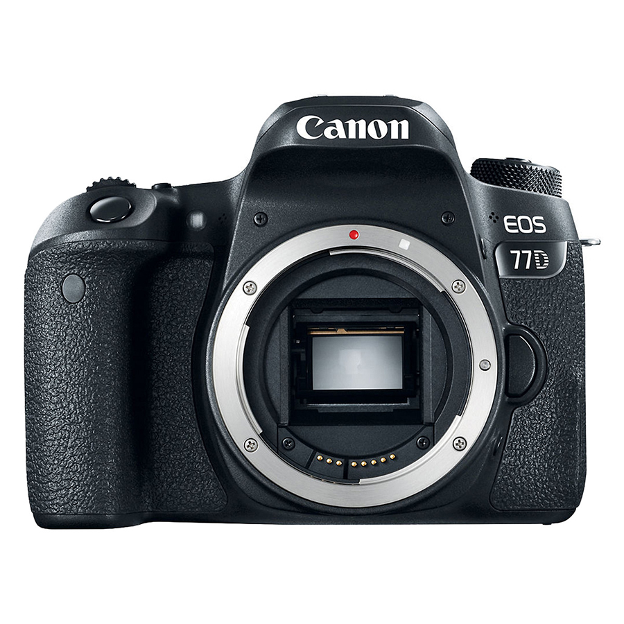 Máy Ảnh Canon 77D Body - Hàng Nhập Khẩu (Tặng Thẻ 16GB + Tấm Dán LCD)