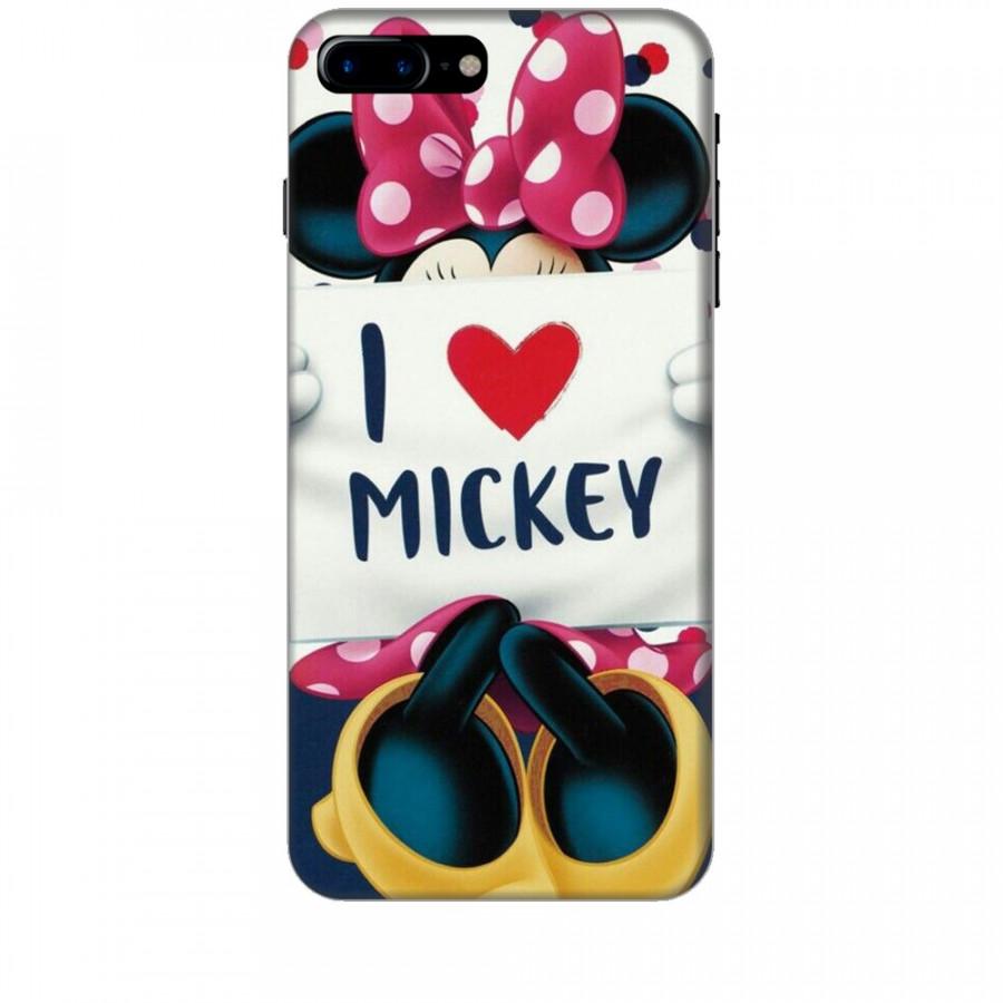 Ốp Lưng Dành Cho Điện Thoại iPhone 8 Plus - I Love Mickey