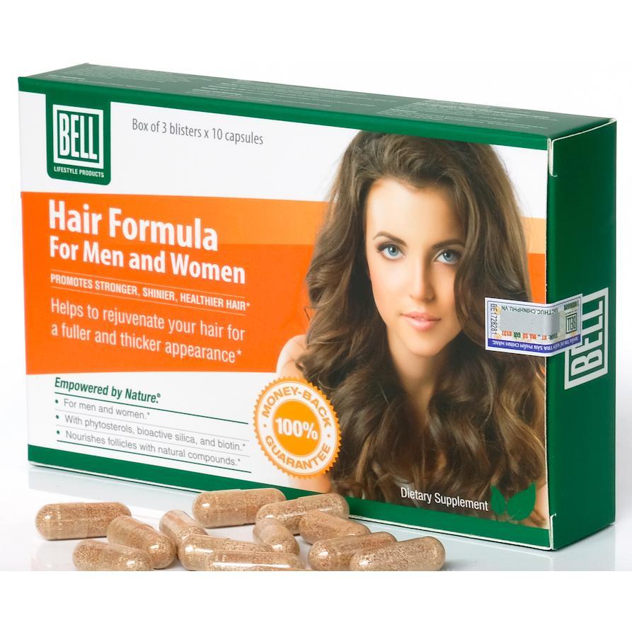 Thực phẩm chức năng Ngăn Ngừa Rụng Tóc Hair Formula For Men And Women (30 viên/hộp)