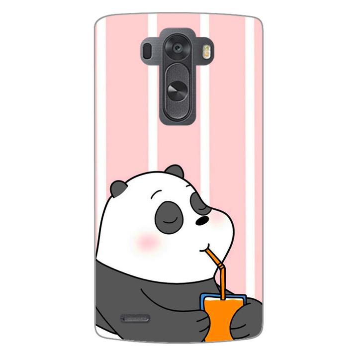 Ốp lưng dẻo Nettacase cho điện thoại LG G3 _0399 PANDA06 - Hàng chính hãng