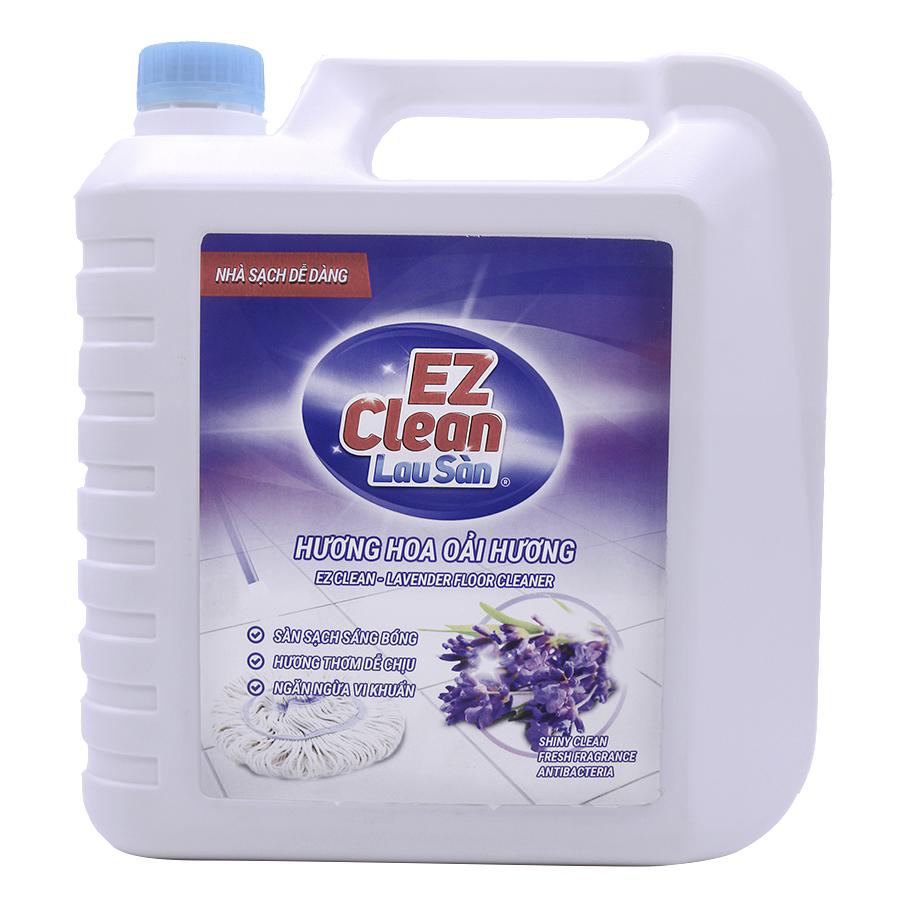 Nước Lau Sàn EZ Clean Hương Lavender (5Kg) - 1300193 , 8936086220815 , 62_6320493 , 107000 , Nuoc-Lau-San-EZ-Clean-Huong-Lavender-5Kg-62_6320493 , tiki.vn , Nước Lau Sàn EZ Clean Hương Lavender (5Kg)