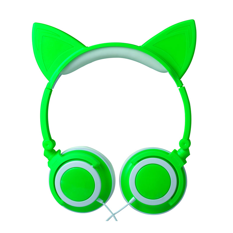 Folding Headset Flashing LED Luminous Glowing Cat Ear Music Headphones Earphone - 2095065 , 7073913129581 , 62_12682183 , 818000 , Folding-Headset-Flashing-LED-Luminous-Glowing-Cat-Ear-Music-Headphones-Earphone-62_12682183 , tiki.vn , Folding Headset Flashing LED Luminous Glowing Cat Ear Music Headphones Earphone