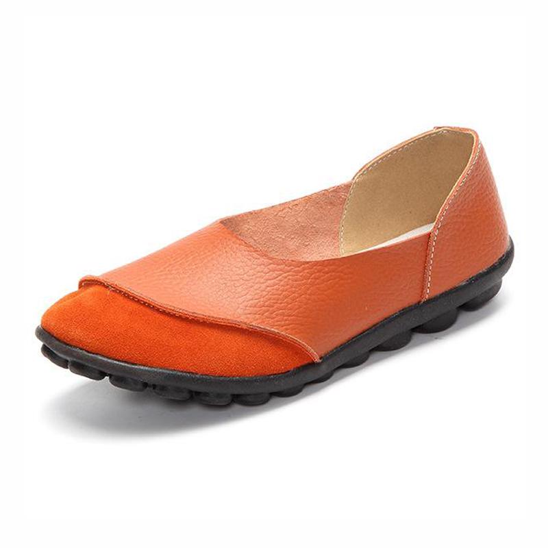 Ladies Flat Loafer Soft Leather Slip On Peas Casual Shoes - 9899665 , 3893713659620 , 62_19651826 , 1013988 , Ladies-Flat-Loafer-Soft-Leather-Slip-On-Peas-Casual-Shoes-62_19651826 , tiki.vn , Ladies Flat Loafer Soft Leather Slip On Peas Casual Shoes