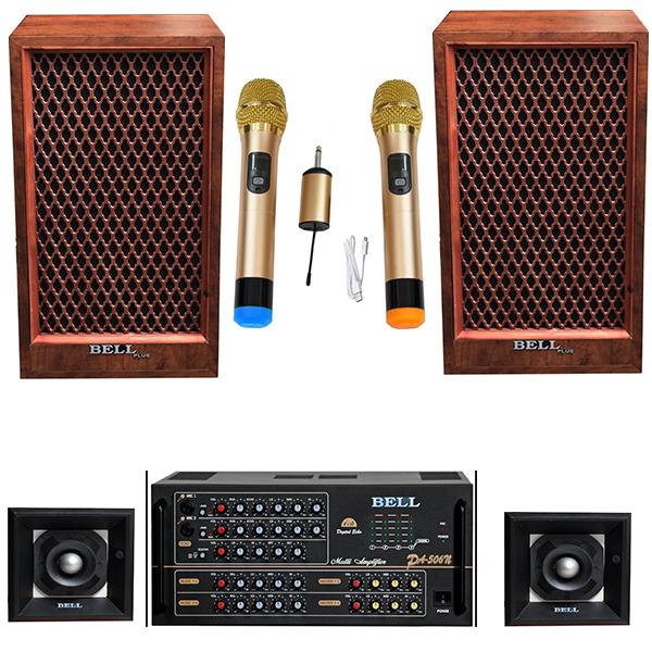 Dàn âm thanh nghe nhạc và hát karaoke KPG - 88A BellPlus ( Chính hãng)