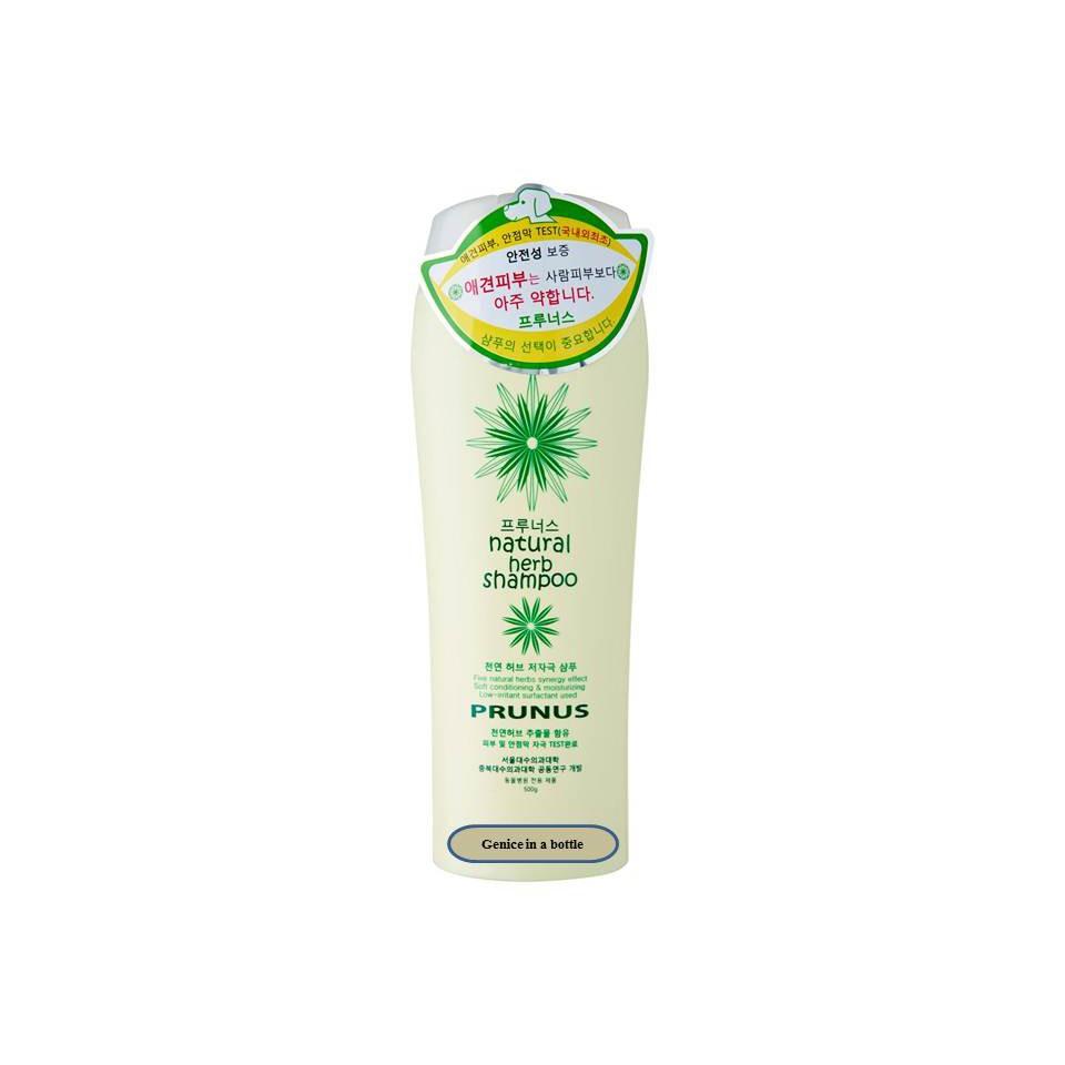 Sữa tắm Hàn Quốc cho chó Prunus Natural herb shampoo 500ml