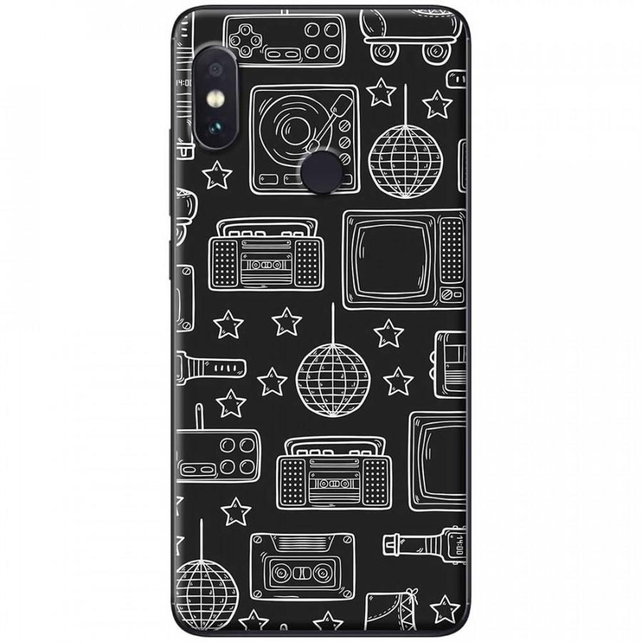 Ốp lưng dành cho Xiaomi Redmi Note 6 Pro mẫu Đồ điện tử