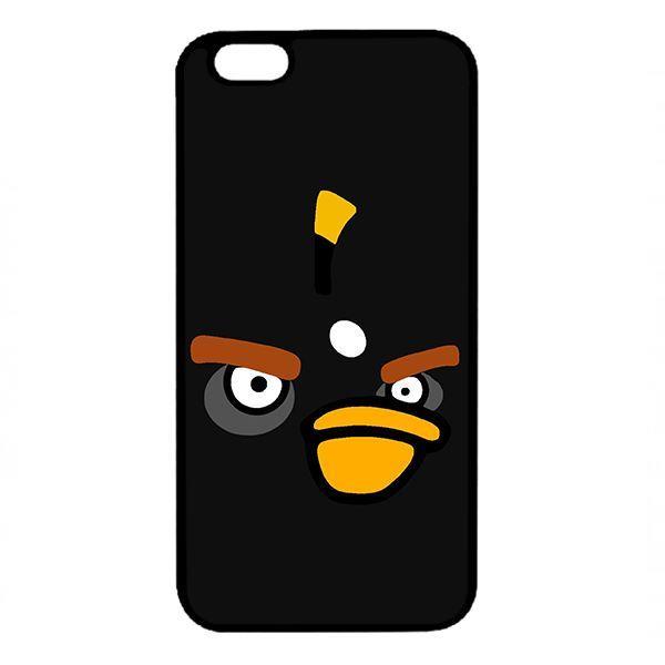 Ốp lưng dành cho Iphone 6 Plus Chim Điên Nền Đen - Hàng Chính Hãng