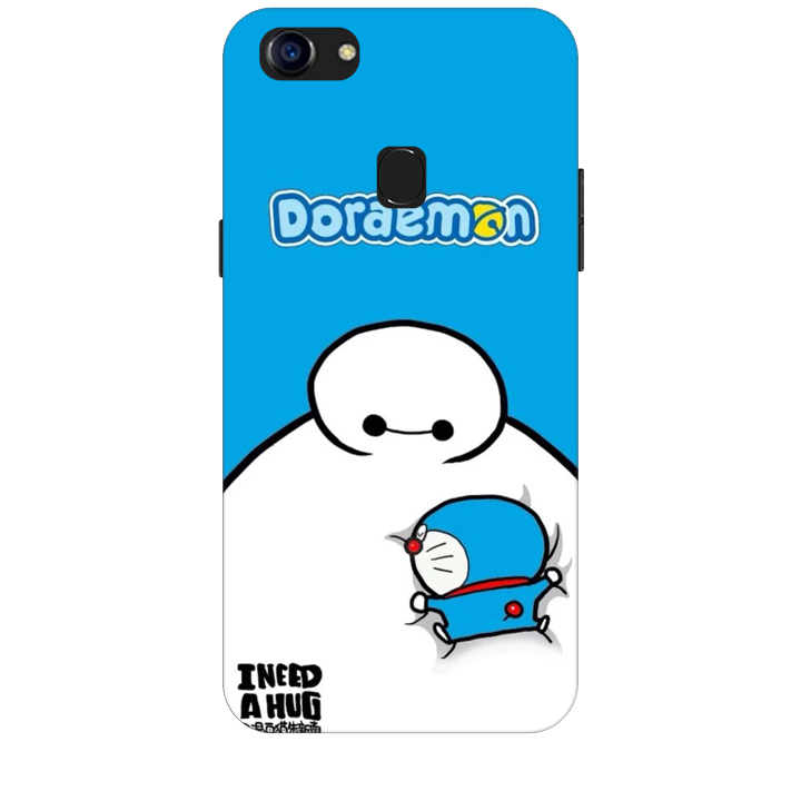 Ốp lưng dành cho điện thoại OPPO F5 YOUTH Big Hero Doraemon
