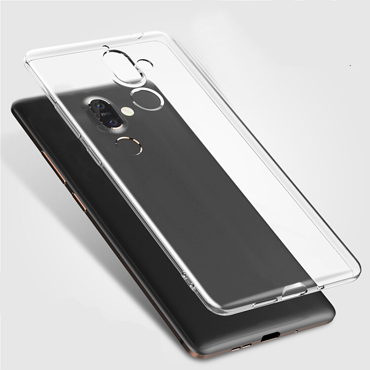 Ốp Lưng Silicon Trong Suốt Cho Nokia 7 Plus Koolife