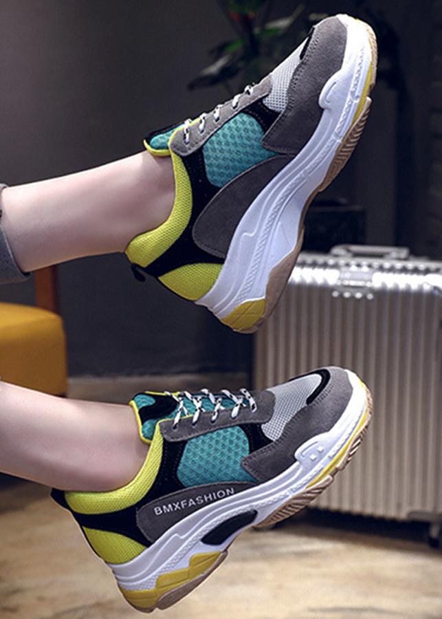 Giày sneaker nữ đa sắc , chất liệu cao cấp 96501 - 2308490 , 8211210959022 , 62_14856766 , 608000 , Giay-sneaker-nu-da-sac-chat-lieu-cao-cap-96501-62_14856766 , tiki.vn , Giày sneaker nữ đa sắc , chất liệu cao cấp 96501