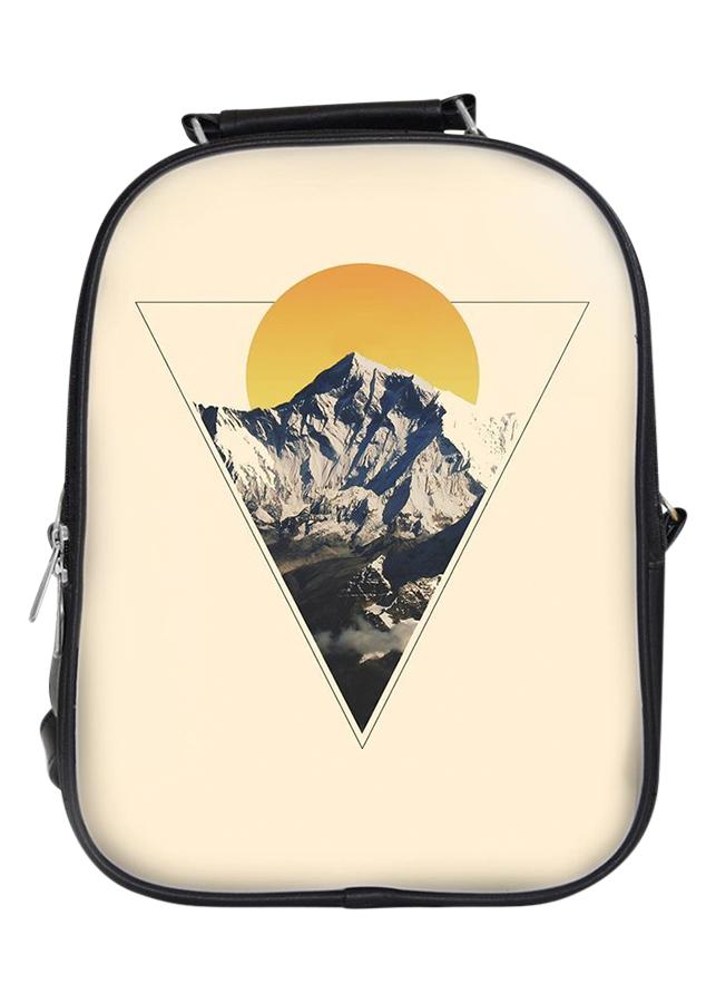 Balo Unisex In Hình Tam Giác Núi Mặt Trời - BLAT050