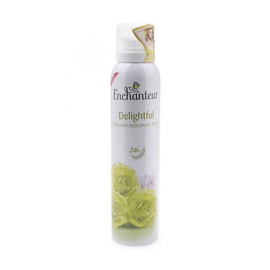 Xịt khử mùi nước hoa Enchanteur Delightful tự tin bừng sáng ngăn mồ hôi  mùi cơ thể 150ml - 18481086 , 1210084147167 , 62_15944236 , 92000 , Xit-khu-mui-nuoc-hoa-Enchanteur-Delightful-tu-tin-bung-sang-ngan-mo-hoi-mui-co-the-150ml-62_15944236 , tiki.vn , Xịt khử mùi nước hoa Enchanteur Delightful tự tin bừng sáng ngăn mồ hôi  mùi cơ thể 150m
