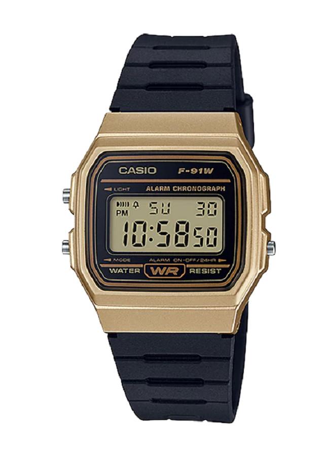 Đồng hồ nam Casio chính hãng điện tử F-91WM-9ADF (35mm)