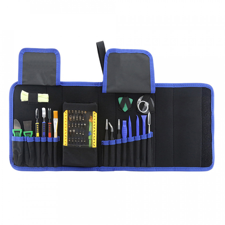 BEST 119 Tools Kit Repair Set 64 in 1 Household Professional Tools Screwdrivers Solder Wick Pliers Tweezers Repair Tool