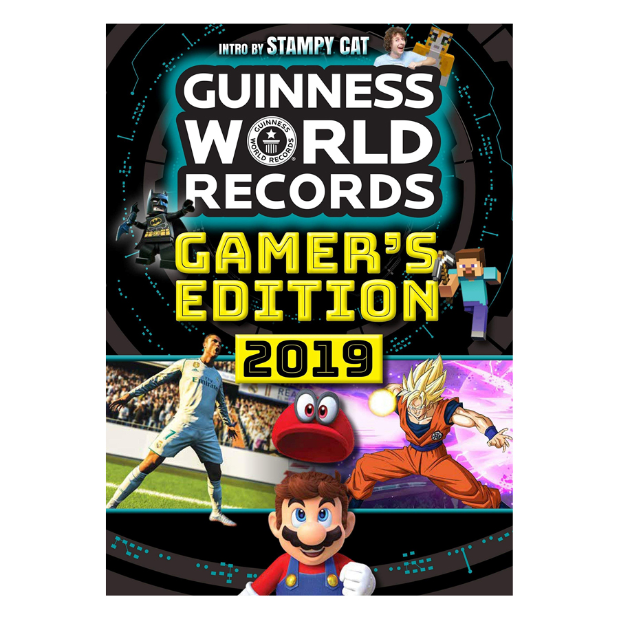Guinness World Records Gamers 2019 - 1599408 , 5235485329536 , 62_10732379 , 468000 , Guinness-World-Records-Gamers-2019-62_10732379 , tiki.vn , Guinness World Records Gamers 2019