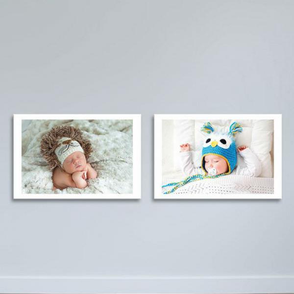 Bộ 2 Tranh Trẻ Em Ngủ Ngon - Tranh Phòng Ngủ Độc Đáo Canvas W1176