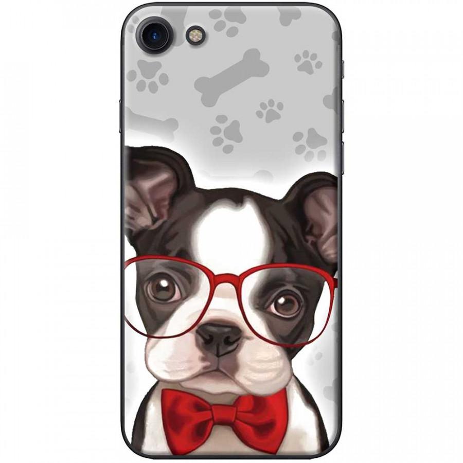 Ốp lưng  dành cho iPhone 7, iPhone 8 mẫu Chó mắt kiếng