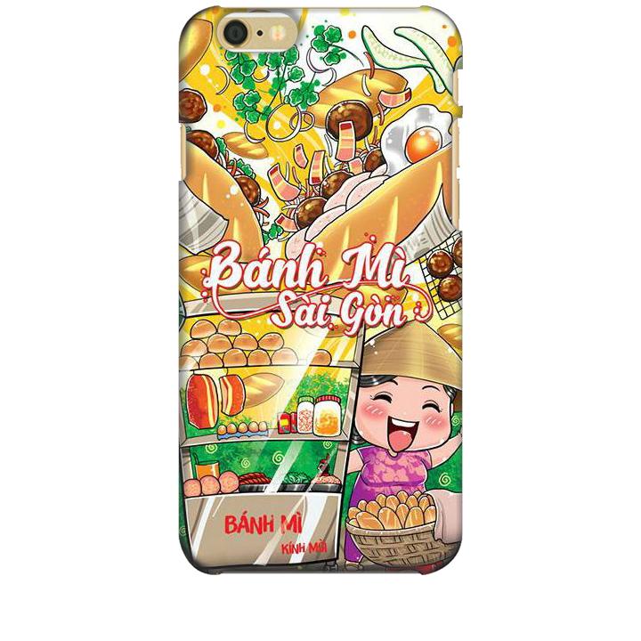 Ốp lưng dành cho điện thoại IPHONE 6 hình Bánh Mì Sài Gòn - Hàng chính hãng