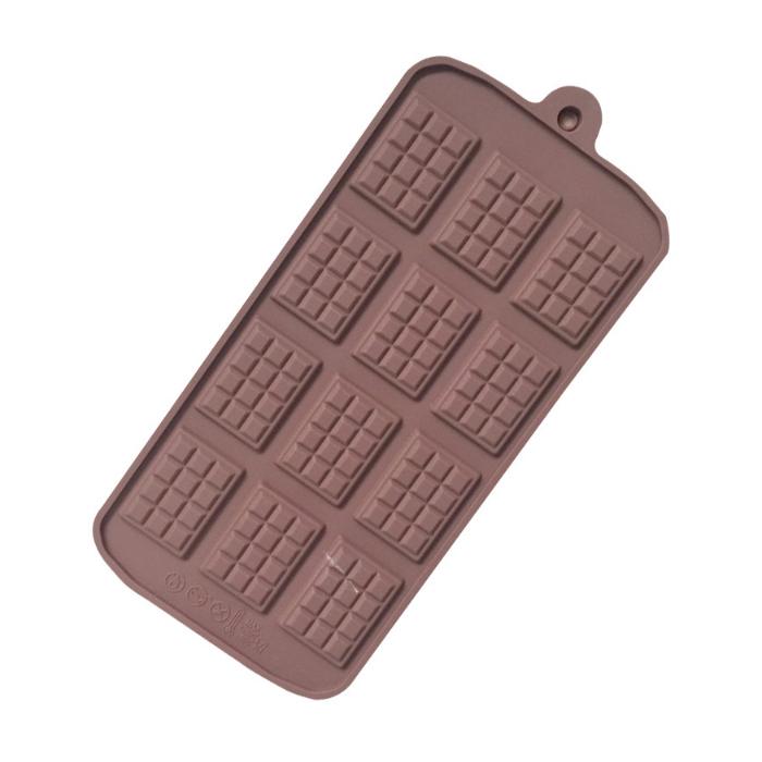 Khuôn silicon làm thạch rau câu, socola 12 thanh chocolate - 7324116 , 2932962641589 , 62_15089439 , 89000 , Khuon-silicon-lam-thach-rau-cau-socola-12-thanh-chocolate-62_15089439 , tiki.vn , Khuôn silicon làm thạch rau câu, socola 12 thanh chocolate