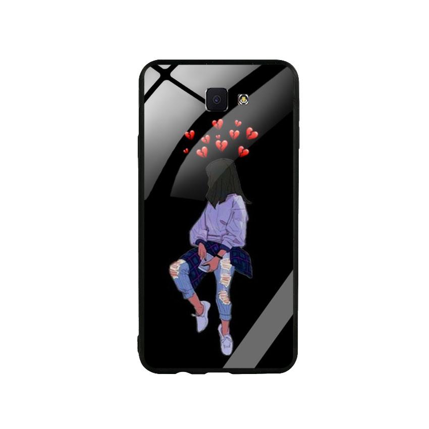 Ốp Lưng Kính Cường Lực cho điện thoại Samsung Galaxy J7 Prime - Alone 05