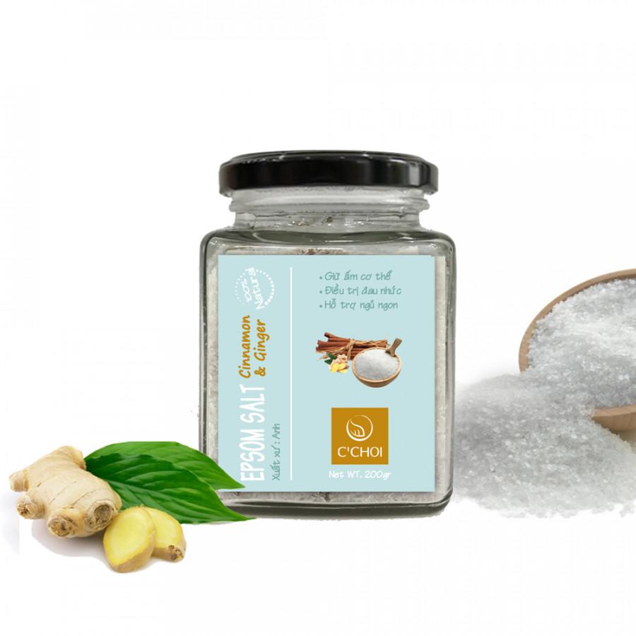 Epsom Salt Cinnamon  Ginger - Muối Epsom Ướp Tinh Dầu Quế Gừng - 6313638 , 4381098699564 , 62_10711267 , 247500 , Epsom-Salt-Cinnamon-Ginger-Muoi-Epsom-Uop-Tinh-Dau-Que-Gung-62_10711267 , tiki.vn , Epsom Salt Cinnamon  Ginger - Muối Epsom Ướp Tinh Dầu Quế Gừng