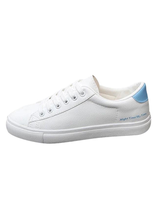 Giày Sneaker Nữ Đế Bằng Hapu