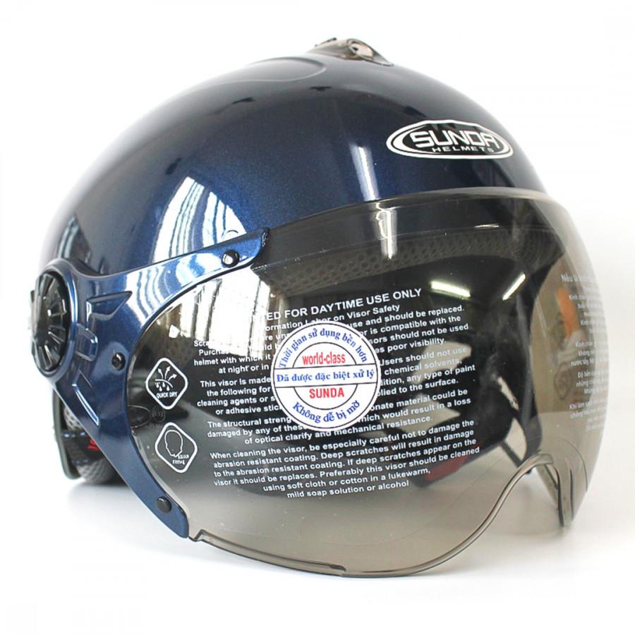 Mũ bảo hiểm có kính SUNDA 137A - 9907517 , 1757312842116 , 62_19760751 , 390000 , Mu-bao-hiem-co-kinh-SUNDA-137A-62_19760751 , tiki.vn , Mũ bảo hiểm có kính SUNDA 137A