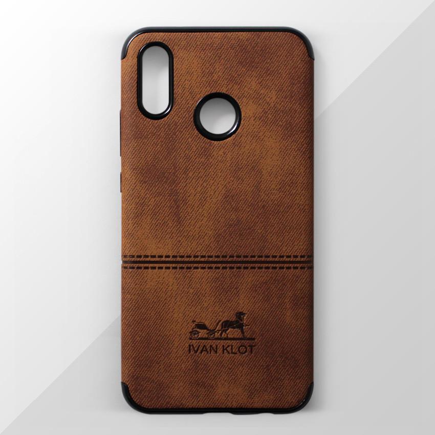 Ốp lưng dành cho Huawei Nova 3e vân vải bố Ivan Klot