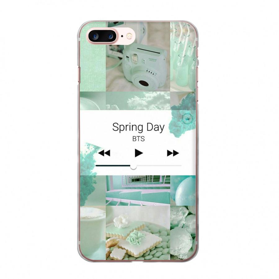 Ốp lưng cho iPhone 7 Plus  KPOP_BTS_SPRING DAY in theo chất liệu - Hàng chính hãng