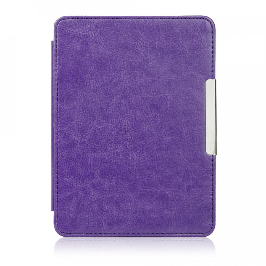 Magnetic Sleep Cover Case Film Protector For Kobo Touch2.0 Ereader W/Buckle
