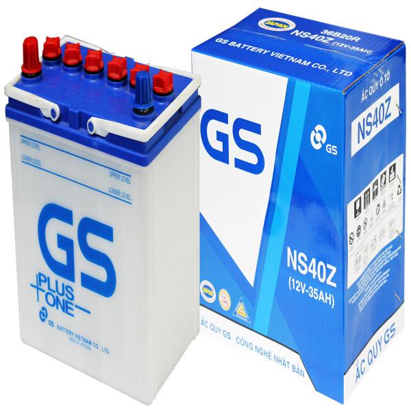 Ắc Quy GS NS40Z (12V-35AH)
