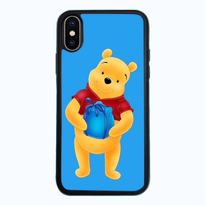 Ốp lưng dành cho điện thoại iPhone XR - X/XS - XS MAX - Gấu Pooh Mẫu 0002