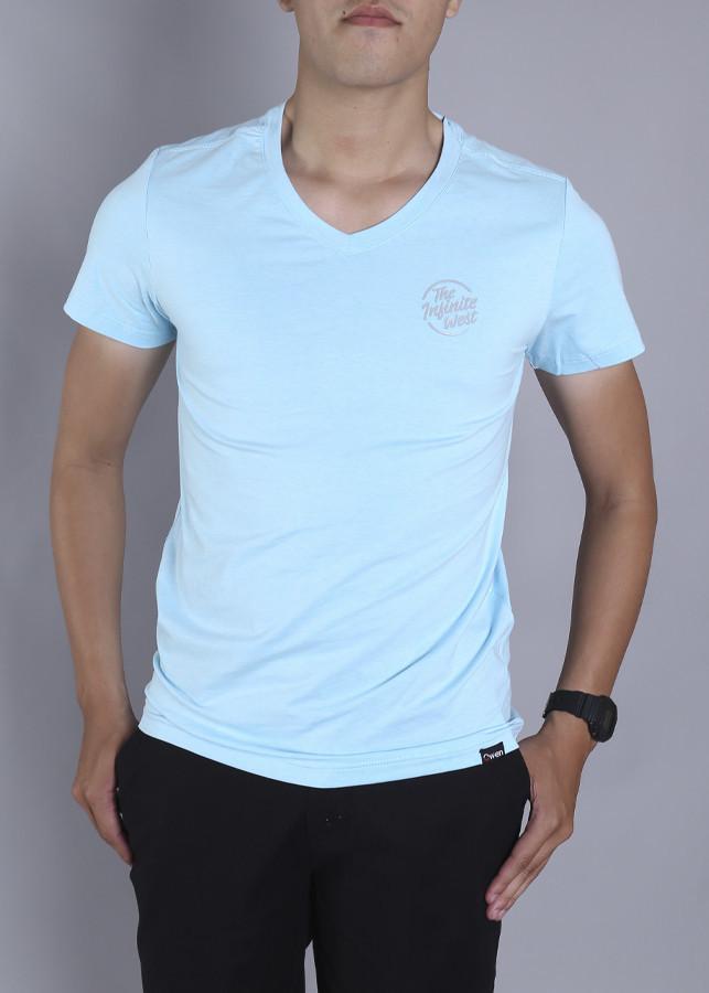Áo Tshirt cổ tim BodyFit-CT-SP2018-Xdatroi-TS18220N-SBU
