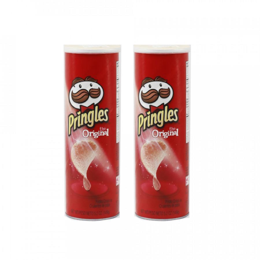 Combo 2 Khoai tây chiên Pringles  Original 149g - Nhập khẩu Mỹ