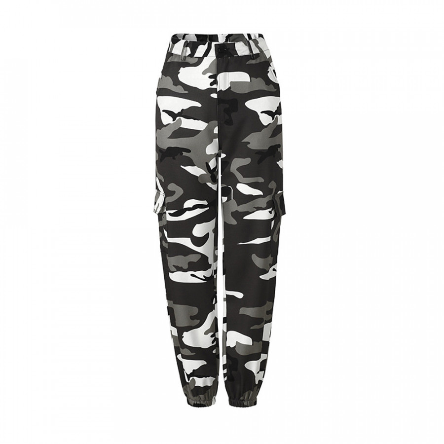 Casual Pants Camouflage Pants Casual Trousers Cotton Hip Hop Sports