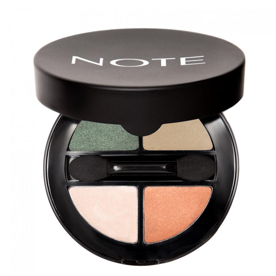 Phấn trang điểm cho mắt 4 màu đẹp tự nhiên lâu trôi NOTE Luminous Silk Quattro Eyeshadow - Thổ Nhĩ Kỳ 1.5g x 4 - 2299876 , 7391829526660 , 62_14806384 , 500000 , Phan-trang-diem-cho-mat-4-mau-dep-tu-nhien-lau-troi-NOTE-Luminous-Silk-Quattro-Eyeshadow-Tho-Nhi-Ky-1.5g-x-4-62_14806384 , tiki.vn , Phấn trang điểm cho mắt 4 màu đẹp tự nhiên lâu trôi NOTE Luminous Silk Qu