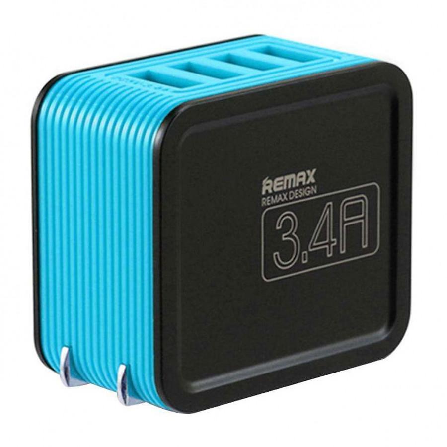 Bộ Củ Sạc Điện Thoại Remax  4 Cổng USB 3.4A RB-U40 - Hàng Chính Hãng - 8118982 , 6768586116099 , 62_16342551 , 2000000 , Bo-Cu-Sac-Dien-Thoai-Remax-4-Cong-USB-3.4A-RB-U40-Hang-Chinh-Hang-62_16342551 , tiki.vn , Bộ Củ Sạc Điện Thoại Remax  4 Cổng USB 3.4A RB-U40 - Hàng Chính Hãng
