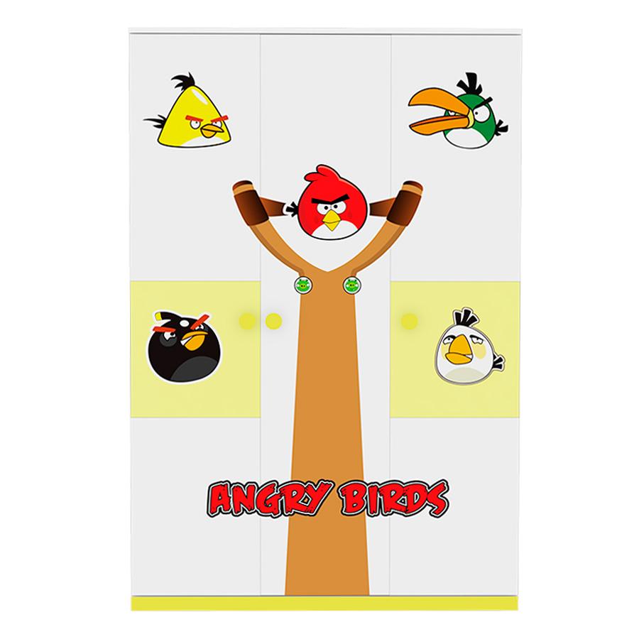 Tủ Áo Angry Bird T05-01 - 1318161 , 5323940103538 , 62_7968857 , 4730000 , Tu-Ao-Angry-Bird-T05-01-62_7968857 , tiki.vn , Tủ Áo Angry Bird T05-01