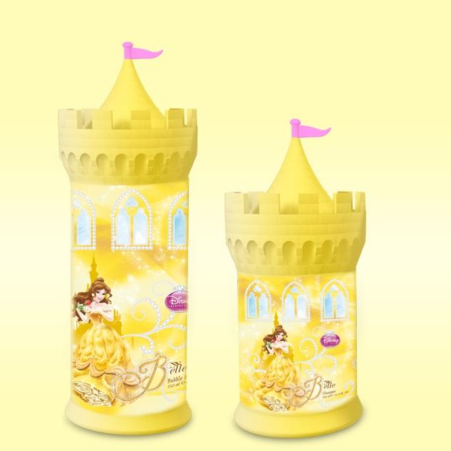 Sữa tắm bé gái lâu đài công chúa Disney Belle 350ml