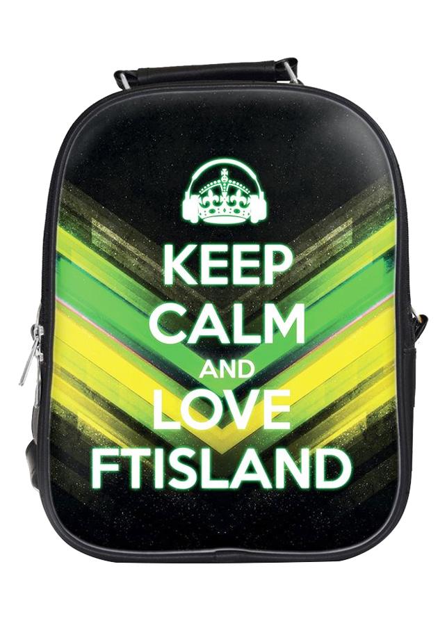 Balo Nữ In Hình Keep Calm And Love Ftisland - BLKLK015