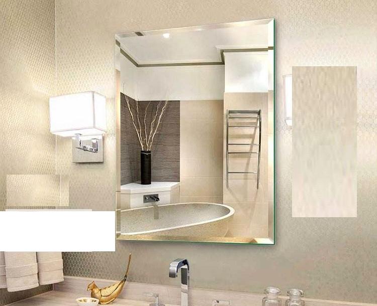 Gương Phòng Tắm Cao Cấp 45 x 60 (Kiếng Cường Lực 5mm) 104B (45 x 60 cm)