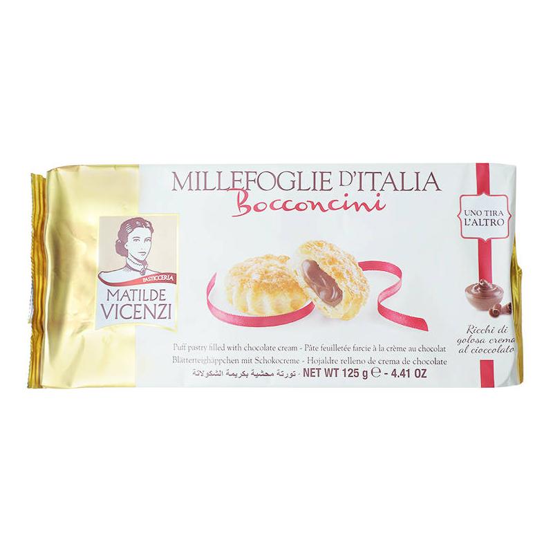Bánh puff pastry nhân kem sô cô la Millefoglie D
