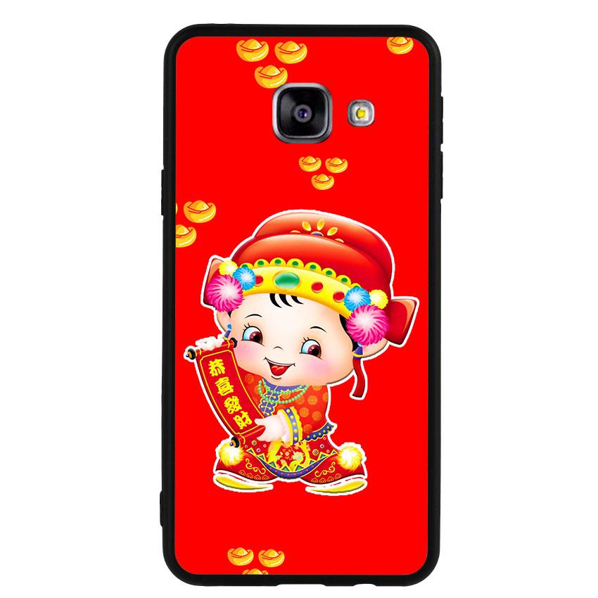 Ốp Lưng Viền TPU cho điện thoại Samsung Galaxy A3 2016 - Thần Tài 05